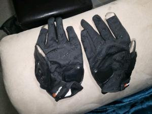 Mens Medium Motorcycle Gloves