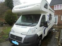 2014 Swift escape 624 5 Berth 4 Belts End KItchen Motorhome For Sale Ref 13620