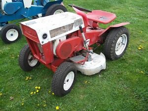 WANTED: OLD GARDEN TRACTORS! WILL PICK UP!
