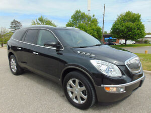 2008 BUICK ENCLAVE CXL, FULLY LOADED, BRAND NEW MICHELIN TIRES!