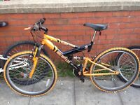 Hull city f.c. Mountain bike