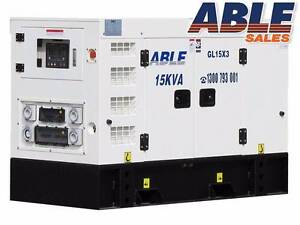 NEW DIESEL GENERATOR 15 KVA 415 VOLT 3 PHASE Coolaroo Hume Area Preview