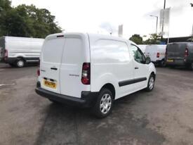 Peugeot Partner 850 S 1.6 Hdi 92 Van [Sld] DIESEL MANUAL WHITE (2014)