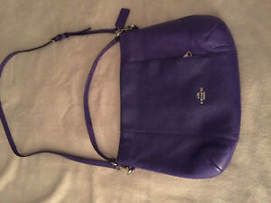 Beautiful purple Coach purse