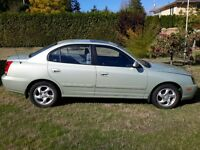 2005 Hyundai Elantra 4 Door Sedan SE