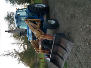 Ford TW 20 Loader tractor