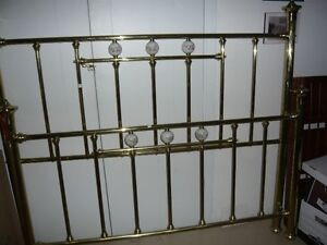 Absolutely  Beautifull Brass head and foot boards