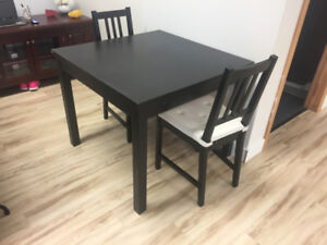 Ikea Extendable Dinette and Chairs