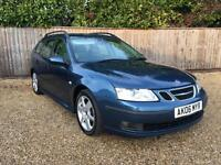 Saab 9-3 1.9TiD ( 150bhp ) SportWagon 2006MY Vector Sport SPARES OR REPAIR