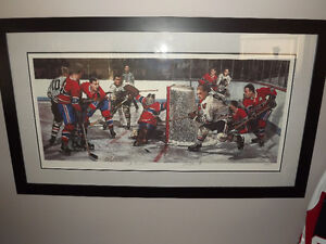 les tait limited edition hockey pictures, 2 different, see pics