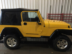 Get your new summer ride early!!  **2001 Jeep Tj For Sale**