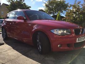 2009 BMW 123d msport 1 owner from new