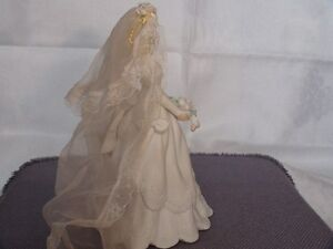Music Box Bride Holding Flowers Figurine London Ontario image 6