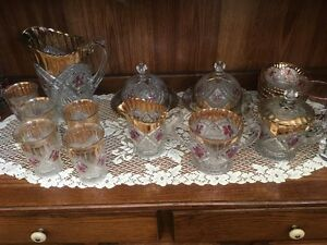 BEAUTIFUL ANTIQUE GLASS, PORCELAIN, ONE OF A KIND PIECES..  MORE