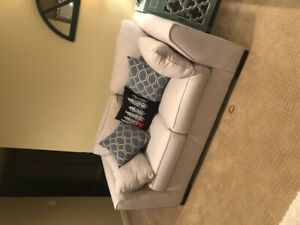 Two quality, comfy Love seat sofas