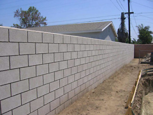 Are you in need of cinder block install