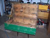 Antique Trunk 36 by 21 and 12 inches deep