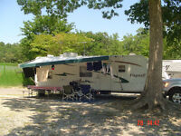 Roulotte Flagstaff 2006 camping Atlantide St-Calixte