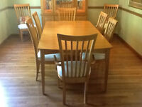 Dining Room Set - Stanley - matching coffee / end tables