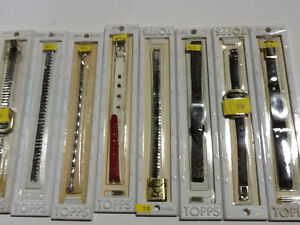 VINTAGE 1970s TOPPS Watch Bands $5 in mint brand new condition