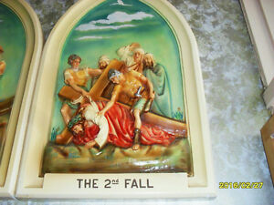 "VERY OLD ONE OF CROSS STATION ""THE 2 nd FALL"""