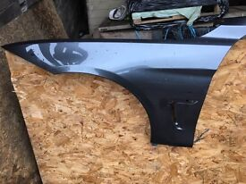 BMW 4 SERIES F32/33 N/S FRONT WING IN GREY