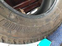 Bridgestone van Tyre 215/70/15