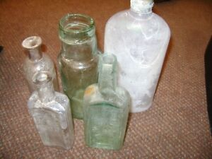 VERY OLD BOTTLES