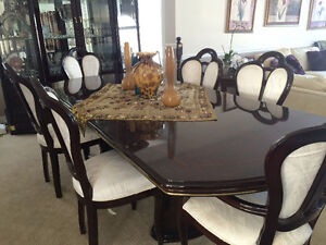 3piece china cabinet & dining table