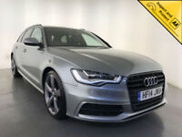 2014 AUDI A6 S LINE BLACK EDITION TDI AUTOMATIC ESTATE 1 OWNER SERVICE HISTORY