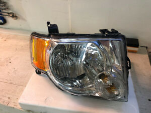 Hedlight pasager side ford escape 2008 - 2011