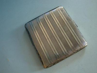 RSHK16-078: Art Deco Zigarettenetui 830er Silber