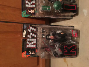 1997 Kiss mib mcfarlane figures