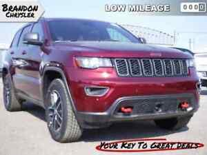 2017 Jeep Grand Cherokee Trailhawk - Navigation