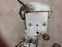 Antique Champion outboard motor