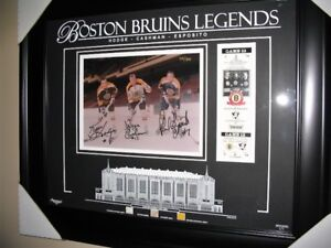 Boston Bruins Legends SignedFrame