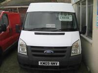 2009 FORD TRANSIT T300M 115ps A C 6 Speed MWB Diesel Van