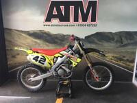 HONDA CRF250 2010 MOTOCROSS BIKE, FLO LUCAS DECALS (ATMOTOCROSS)