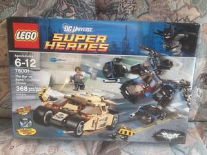 ~LEGO~ New Batman set 76001  Bat Vs. Bane Tumbler Chase