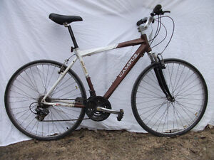 An 18 speed Raleigh bicycle