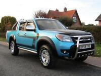 2009 Ford Ranger PICK UP DOUBLE CAB XLT 2.5 TDCi 4WD ** 77,000 MILES * FULL H...