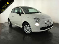 2012 FIAT 500 POP 3 DOOR HATCHBACK SERVICE HISTORY FINANCE PX WELCOME