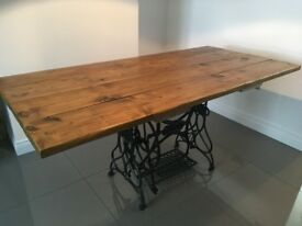 Bespoke Rustic Dining Table