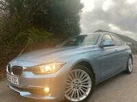 2012,62 BMW 320i Luxury turbo 4dr,Only 50,000 miles full service history