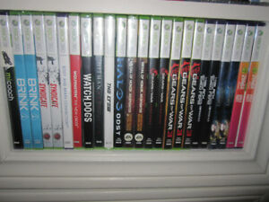XBox 360 Games - New in sealed boxes (some store-opened )