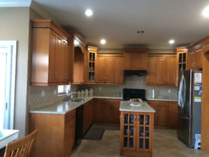 Maple Wood Cabinets