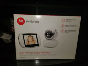 "3.5"" video baby monitor"