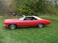 Red Buick LeSabre Convertible