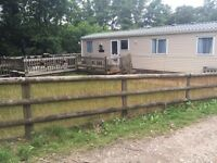 3 bed roomed Caravan available for holidays.