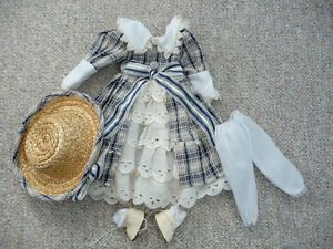 Complete Outfit For A Porcelain Doll
